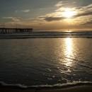 Ponton sur Coronado Island, San Diego, USA