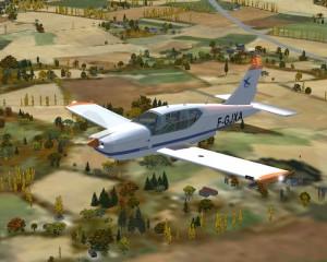 Le modèle pour FSX du TB20