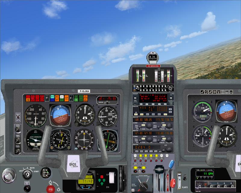 tableau de bord modèle TB20 ENAC