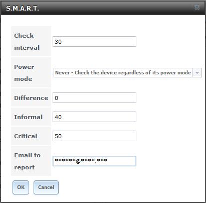 FreeNAS - paramétrage de S.M.A.R.T.