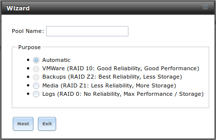Assistant configuration de FreeNAS 9.3